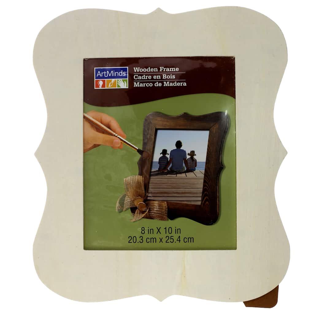Wood Parenthesis Frame, 8\