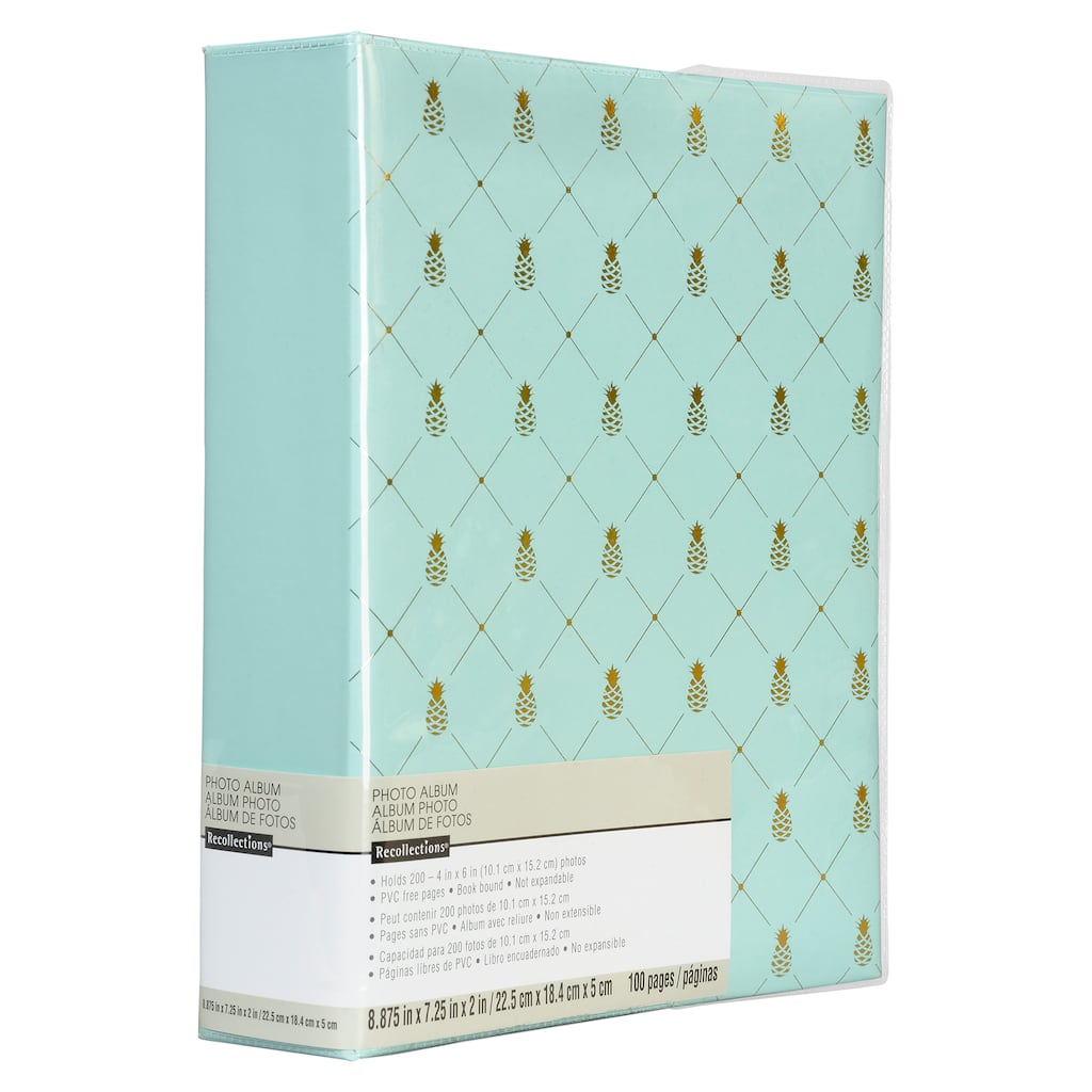 Shop for the Blue Pineapple Photo Album by Recollections® at Michaels