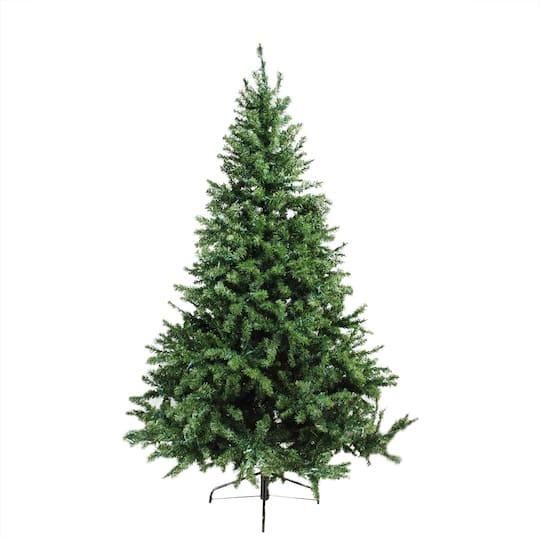 6 Ft. Pre-Lit Canadian Pine Artificial Christmas Tree, Candlelight LED  Lights - 6 Ft. Pre-Lit Canadian Pine Artificial Christmas Tree, Candlelight
