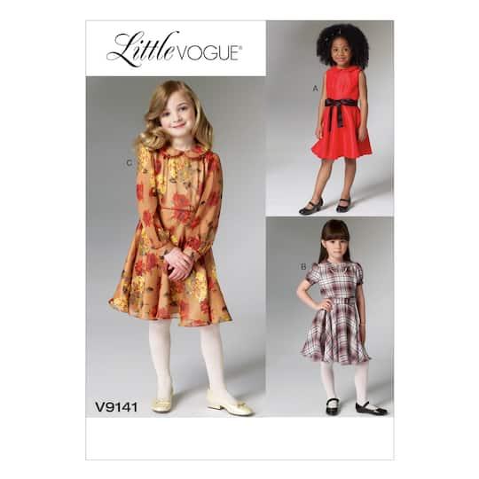 efb5e808ae6 Vogue Patterns V9141 (3-4-5-6)