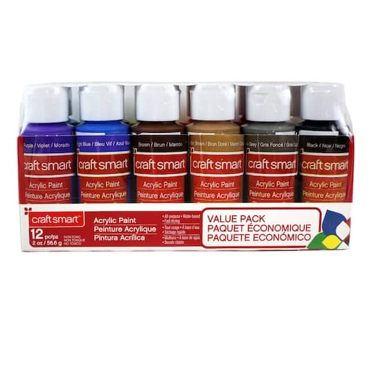 Craft Smart 174 Acrylic Paint Value Pack