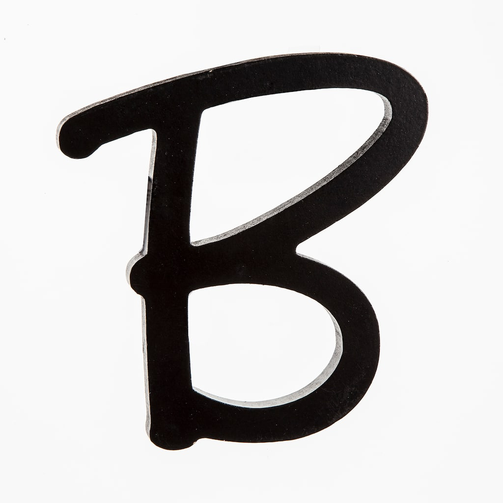 Buy The 5 Black Wooden Script Letter By Artminds At Michaels