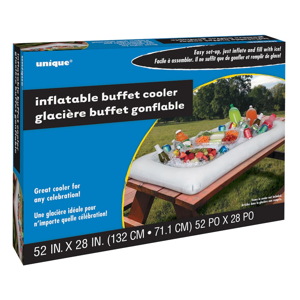 White Inflatable Buffet Cooler