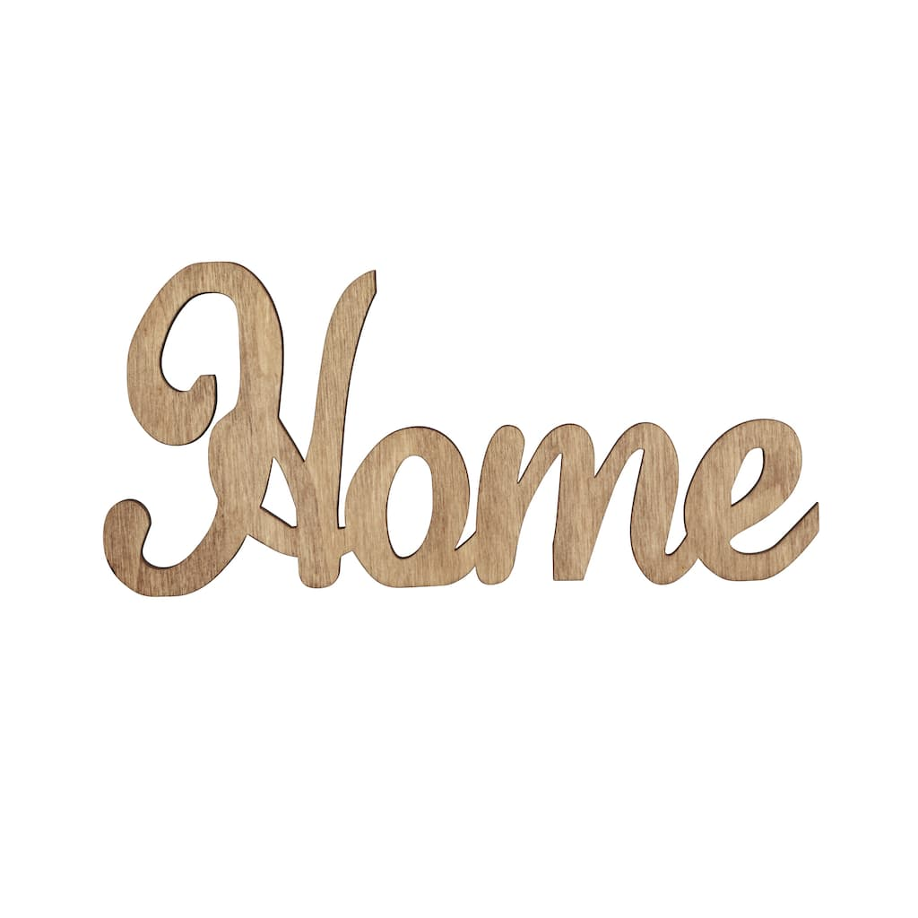 Buy the Wood Pallet Word Shape by ArtMinds™, Home at Michaels