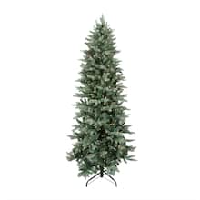 9 ft pre lit washington frasier fir slim artificial christmas tree clear lights - Michaels Christmas Trees Artificial