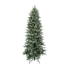9 ft pre lit washington frasier fir slim artificial christmas tree clear lights