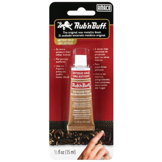 Rub 'n Buff® Wax Metallic Finish