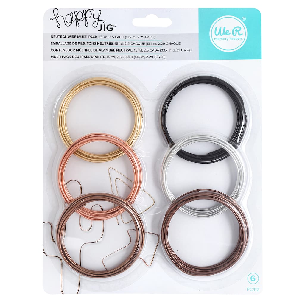 Find The We R Memory Keepers® Happy Jig™ Neutral Wire
