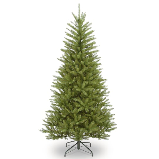 65 ft unlit dunhill fir slim artificial christmas tree