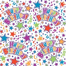 Stars Birthday Wrapping Paper