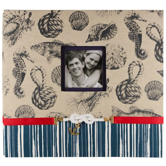 Find The Kcompany Nautical Scrapbook Album At Michaels