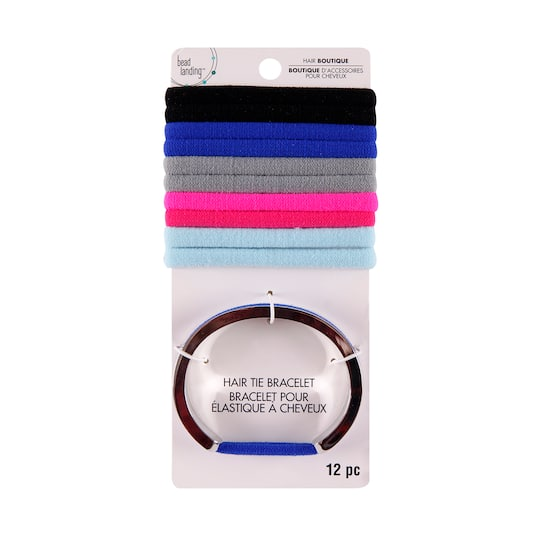 Find the Basic Rhodium Bracelet Hair Ties By Bead Landing™ at Michaels f4fa9f567fb