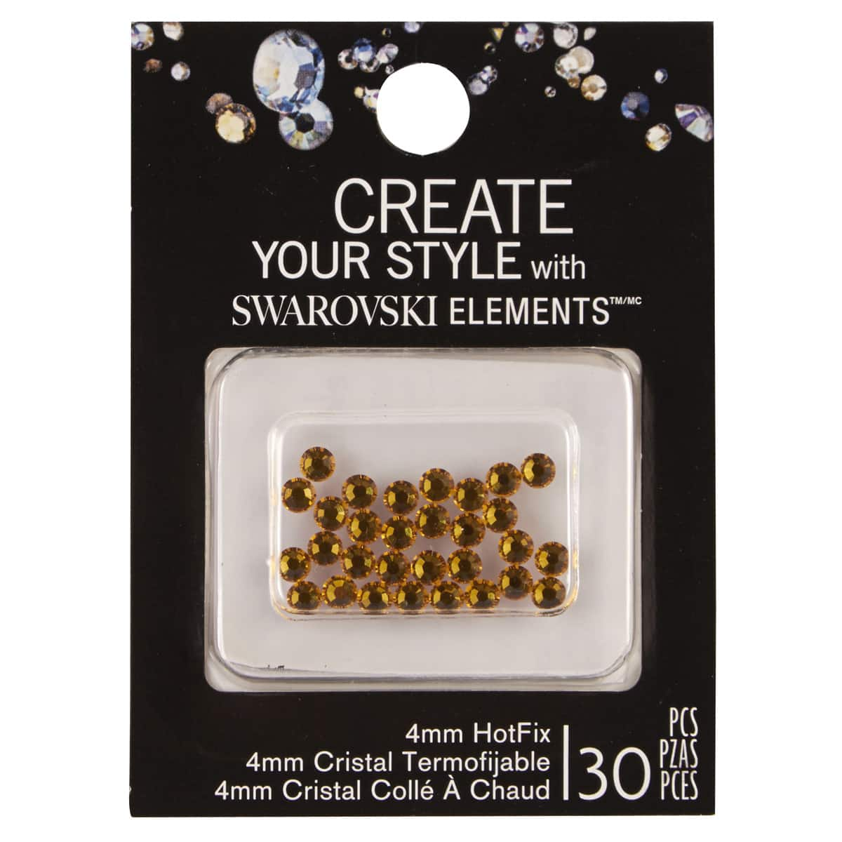 Swarovski™ Create Your Style™ Hotfix Crystals, 4mm