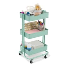 Find The Mint Lexington 3 Tier Rolling Cart By
