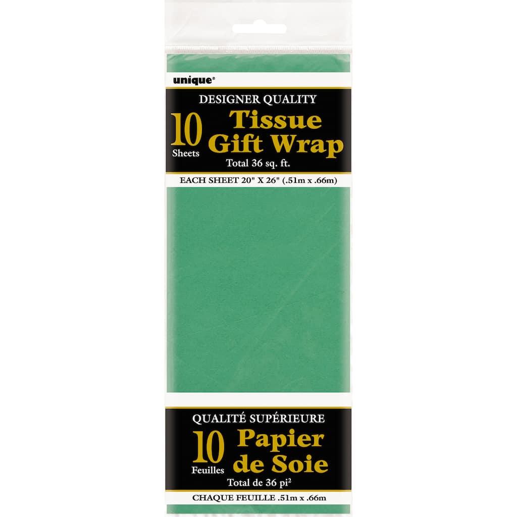 Holiday Green Tissue PaperChristmas Green Tissue PaperGreen 24 sheetsPremium Green Tissue Paper  Green Christmas Tissue  Green Wedding