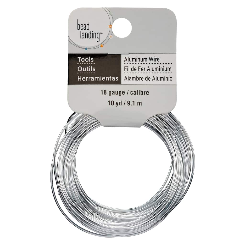 Buy The Rhodium 18 Gauge Aluminum Wire By Bead Landing At Michaels To Copper Wiring Img