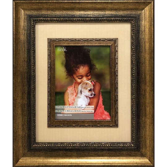 Purchase The Bronze 16 X 20 Frame With Mat Home Collection By