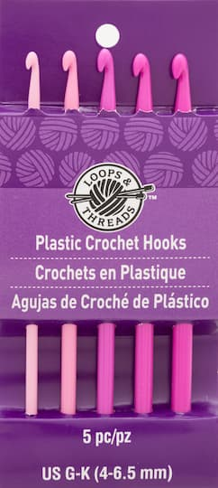 Plastic Crochet Hook Set By Loops Threads G K