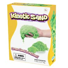 WABA Fun Kinetic Sand, Green, 5lbs