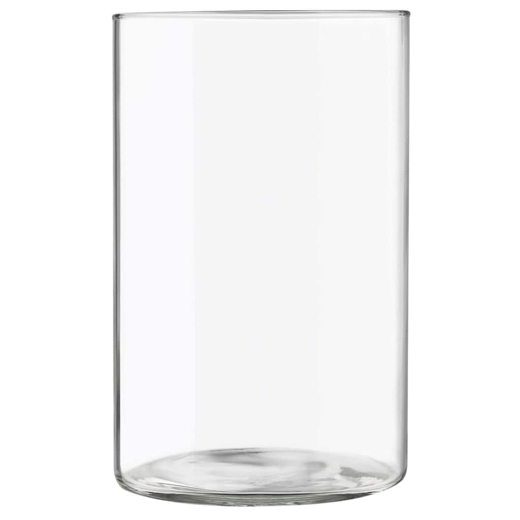 Libbey 174 Glass Cylinder Vase 9 75in X 6 25in