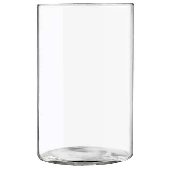 Libbey Glass Cylinder Vase 975in X 625in