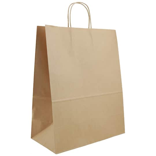 Celebrate It Extra Large Paper Handle Bag Natural