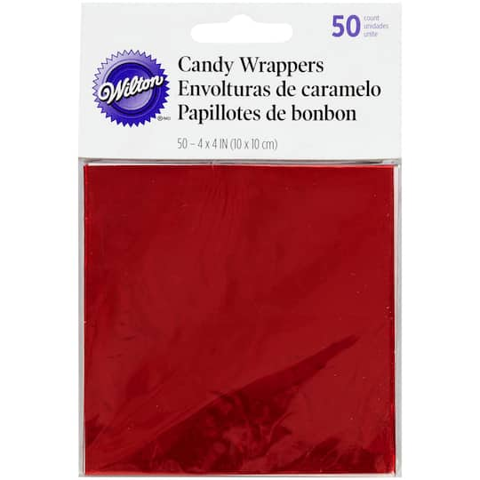 Wilton Candy Wrappers