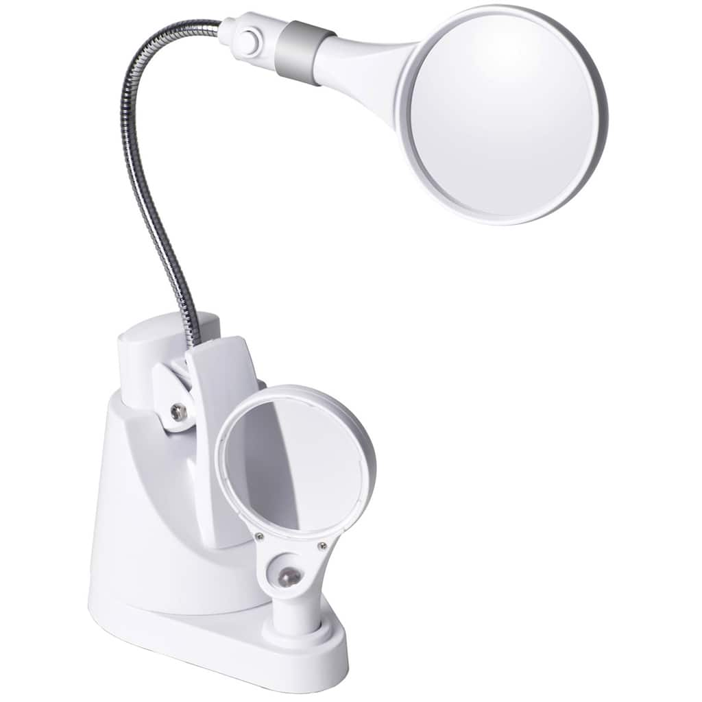 Ottlite 174 Led Clip Amp Freestanding Magnifier Lamp