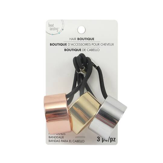 Shop for the Metal Hair Bands By Bead Landing™ at Michaels f69b92af6b4