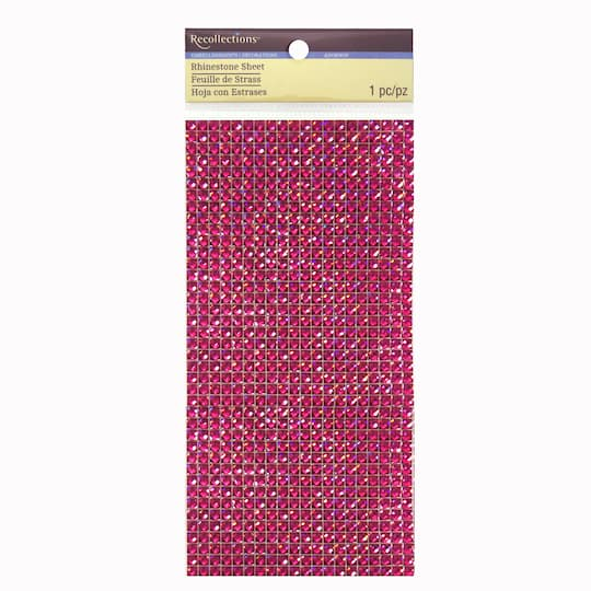 Rhinestones Sheet By Recollections