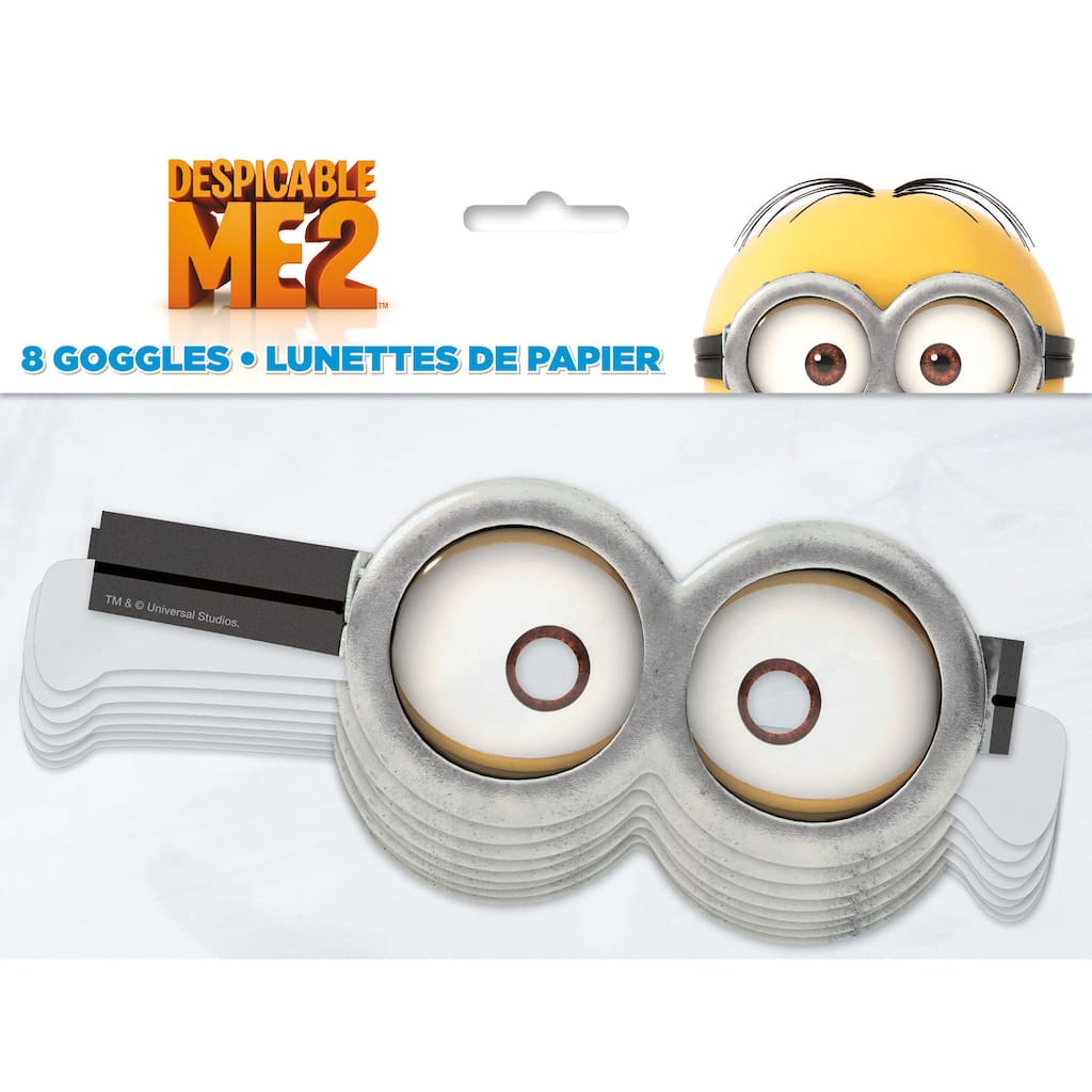 It's just a picture of Stupendous Minion Goggles Printable