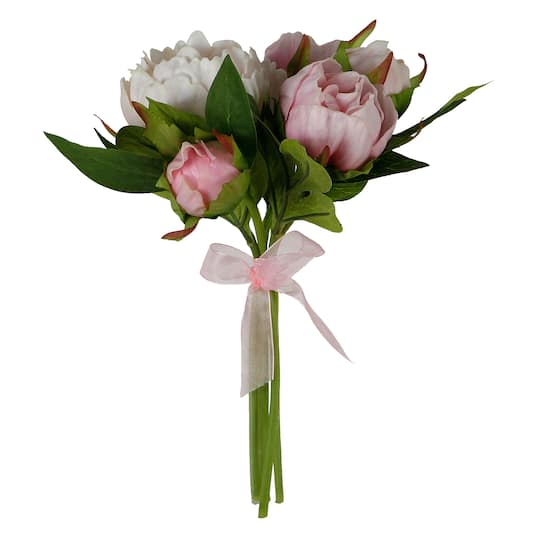 Light Pink Peony Bunch By Ashland Img