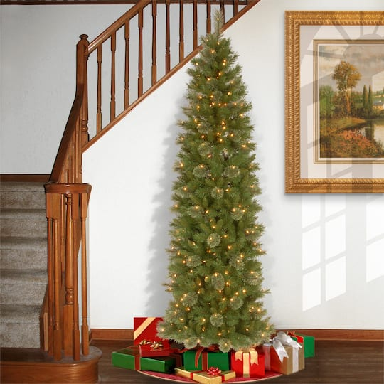 Where To Buy A Pre Lit Christmas Tree: Buy The 7.5 Ft. Pre-lit Tacoma Pine Pencil Artificial