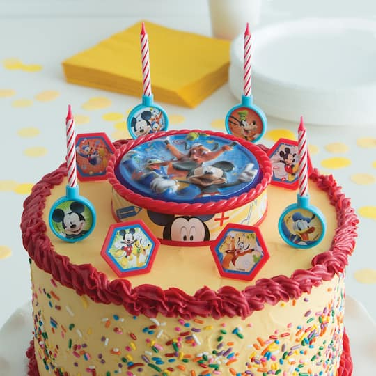 Mickey Mouse Birthday Cake Decorating Kit