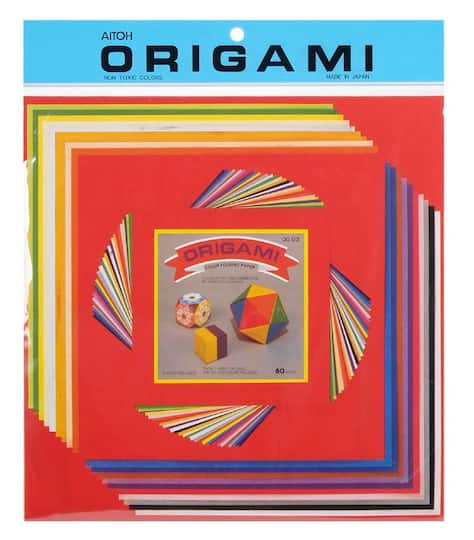 shop for the origami paper set, large at michaels