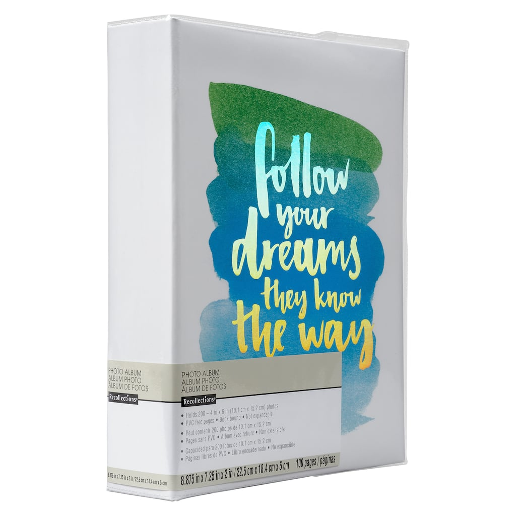 Follow Your Dream Photo Album By Recollections