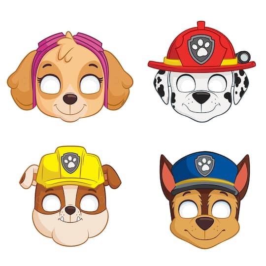 PAW Patrol Party Masks 8ct Img