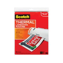 Buy the Scotch™ Thermal Laminating Pouches, 8.5\'\' x 11\'\' at Michaels