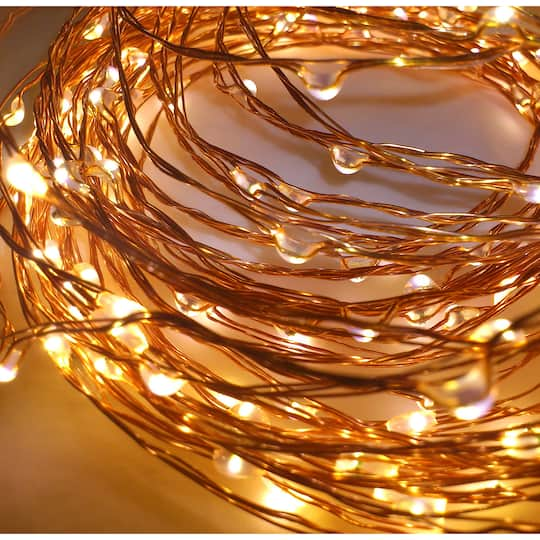 Micro Led String Lights Inspiration Buy The Apothecary Company™ Copper Decorative Micro LED String