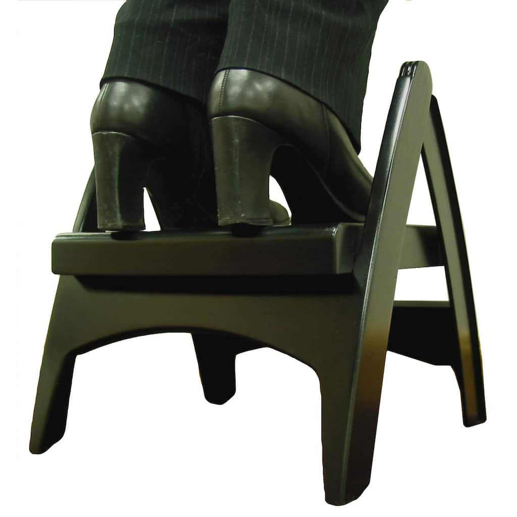 Black Quik-Fold Step Stool