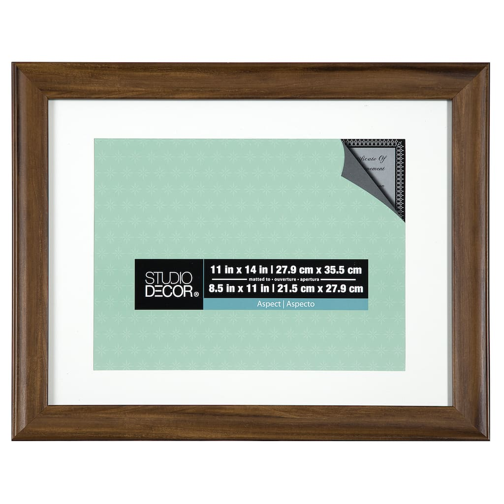 Find The Rustic Wide Frame 11 X 14 With 85 X 11 Mat