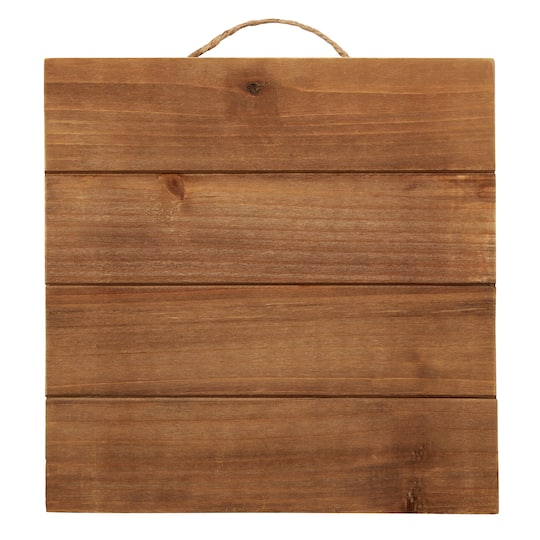 Square Wood Pallet Plaque By Artminds