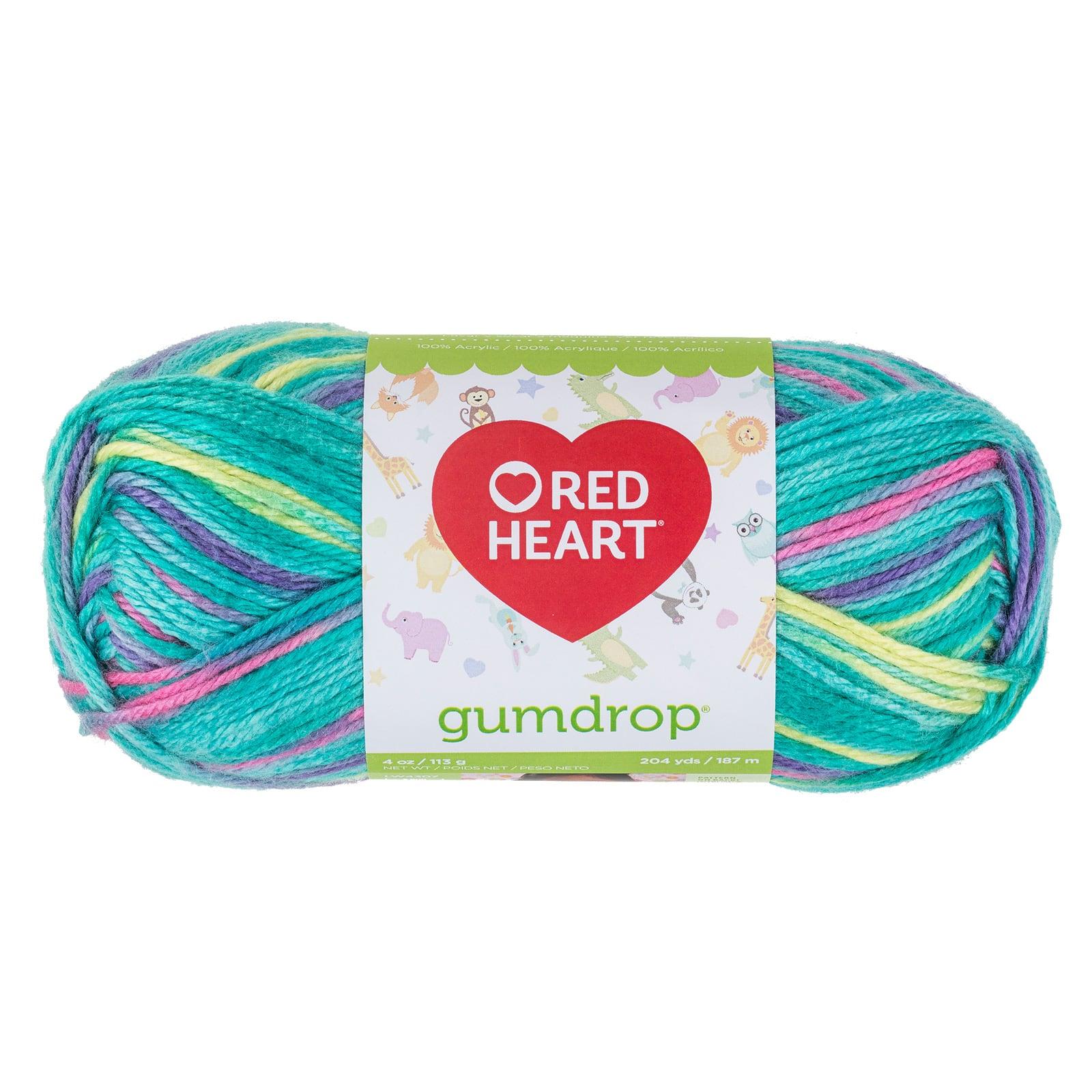 Red Heart Gumdrop Yarn-parfait