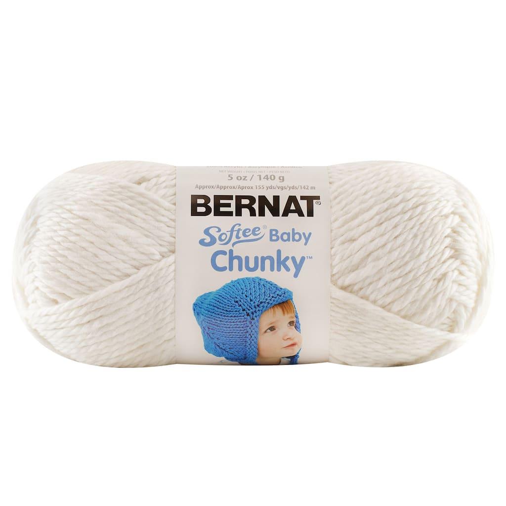 Bernat 174 Softee 174 Baby Chunky Yarn Solid