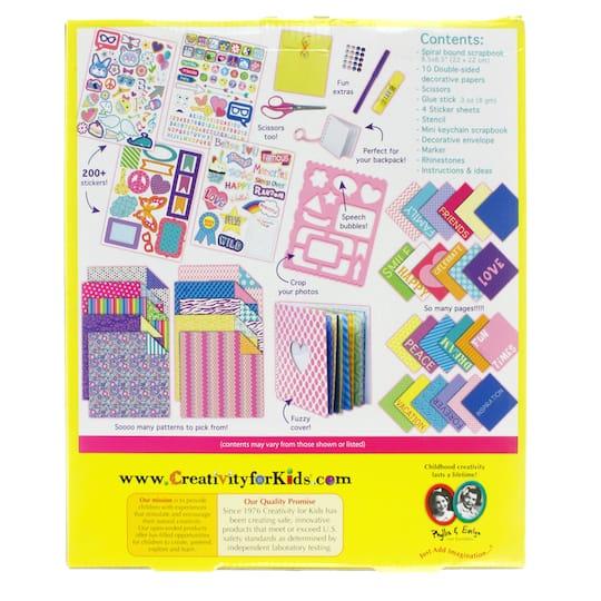 Creativity For Kids My Life Scrapbook Kit