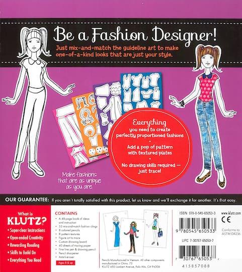 Klutz My Style Studio Activity Book