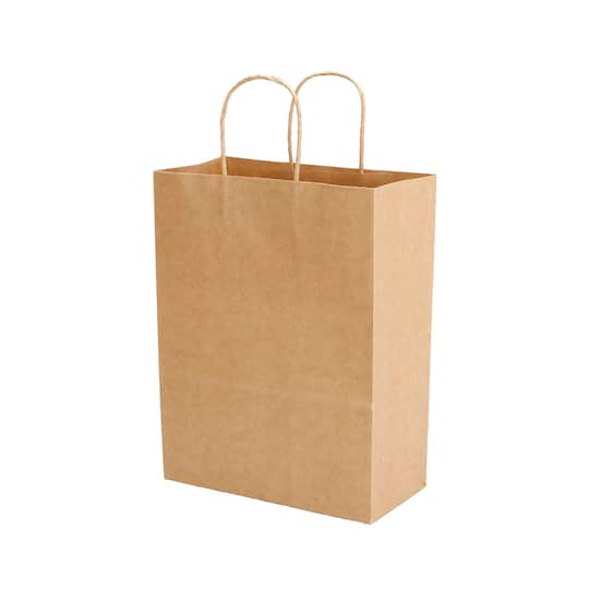 Large Kraft Gift Bags Natural