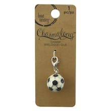 Charmalong™ 3D Soccer Charm by Bead Landing™