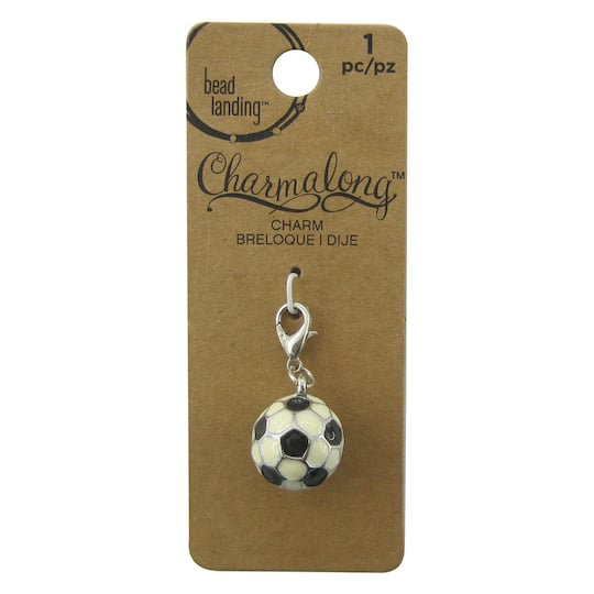 Find The Charmalong™ 40D Soccer Charm By Bead Landing™ At Michaels Delectable Soccer Blankets And Throws