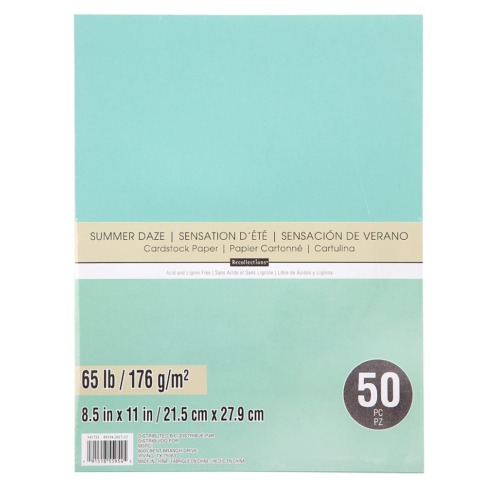 Buy the Summer Daze Cardstock Paper By Recollections™ at Michaels